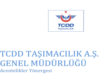 TCDD Tasimacilik AS Agency Guide