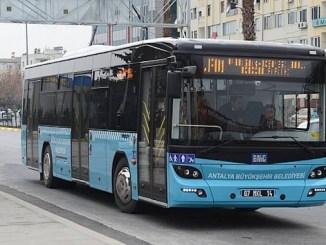 public transportation in Antalya was free