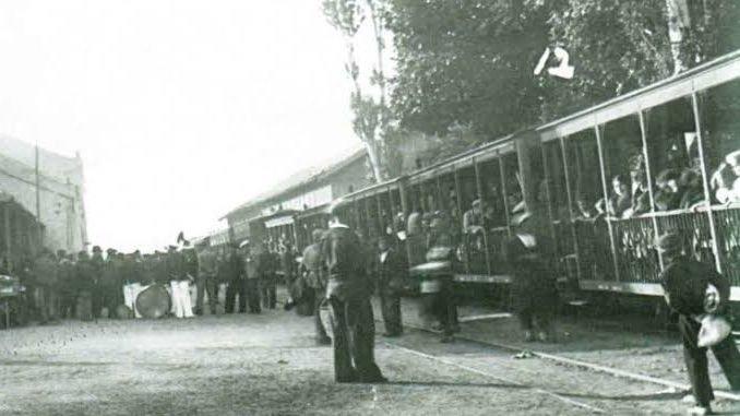 كان هناك السكك الحديدية