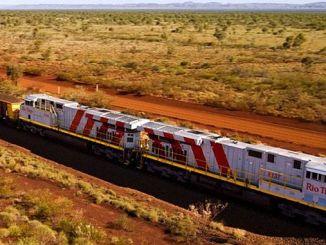 el primer tren del mundo