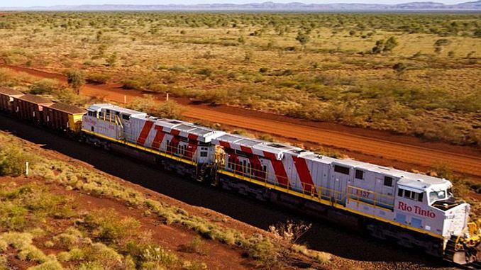 le premier train du monde