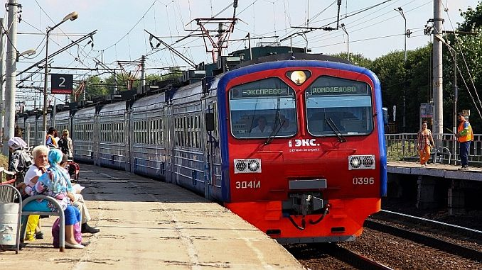 moskovada suburban trains go to summer schedule