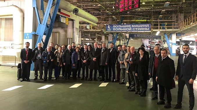 turkey give up leadership in the re-growth in the Russian automotive market