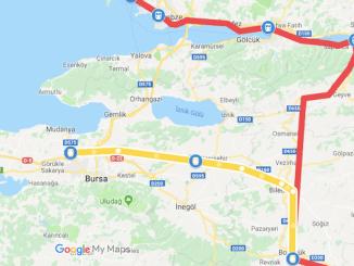 Proyecto de tren de alta velocidad de Bursa Bilecik