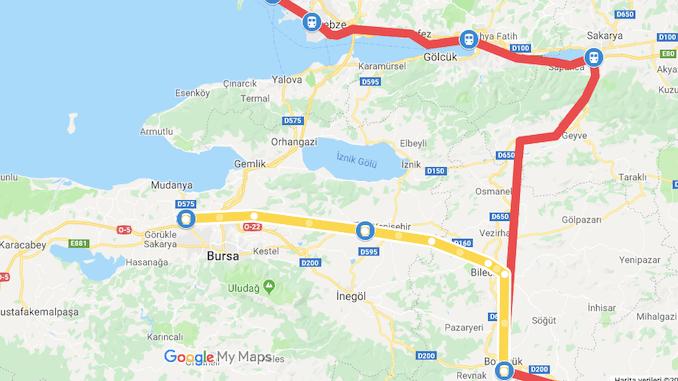 Bursa Bilecik High Speed Train Project