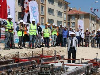 Eskişehir ನಗರ ಕೇಂದ್ರ ಟ್ರ್ಯಾಮ್ ಲೈನ್ ಅಡಿಪಾಯ ಹಾಕಿತು