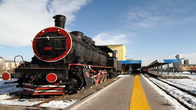 ရေနွေးငွေ့ရထား Kars ရထားလမ်းလိုင်းများ
