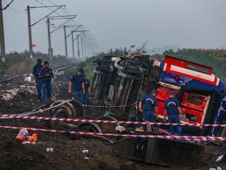 броя на загиналите при инцидент с влака