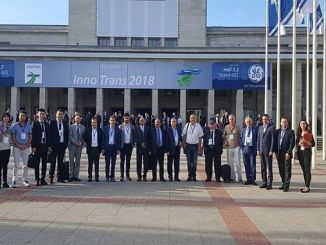 Innotrans with arus members were at 2018