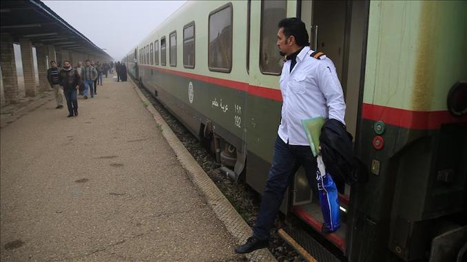 bagdat قطار القطرة