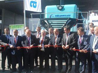 großes Interesse an der ersten nationalen Hybridlokomotive innotrans