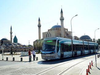 Keten het gebring na die tram stad koniyaya ideale stedelike