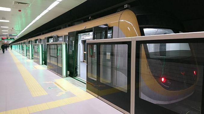 uskudar cekmekoy մետրոպոլիտենի գծով 179 բեն 612 ուղեւորափոխադրումներ