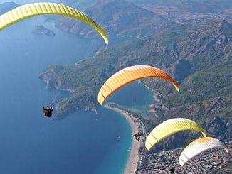 babadag ropeway yamac parasutu will stimulate the jump
