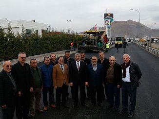head celik kayseri has followed the asphalt in osb