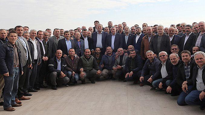 baskan tocoglu has met with sakarya minibus