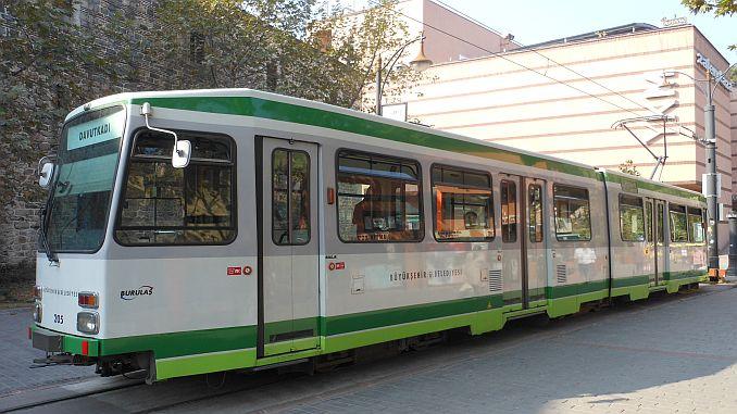 bursa nostalgische Straßenbahn