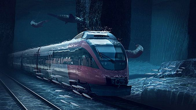 will build submarine tunnels for high speed train