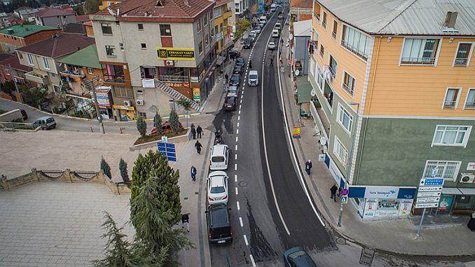 dilovasi bagdat street is renewed