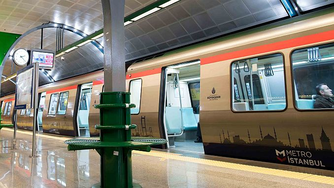 world's largest metro construction in istanbul