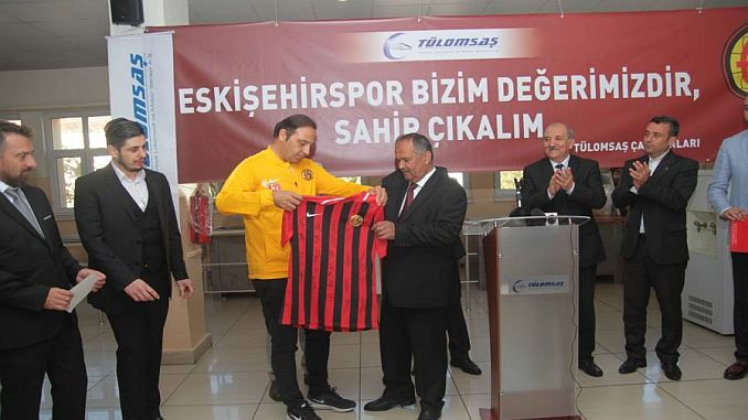 Eskisehirspor met with tulomsas employees