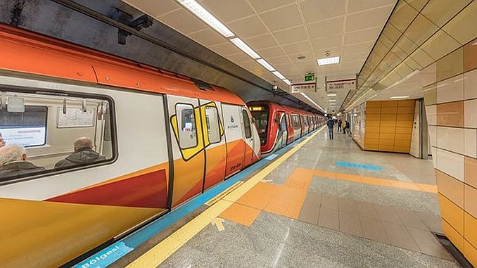 istanbulda 2019 yilinda hizmete girecek 4 metro hatti