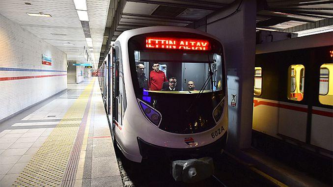 262 rail system in Izmir