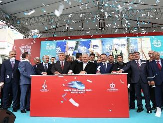 kocaelide 5 billion lyrical gebze darica laid the foundation of subway project