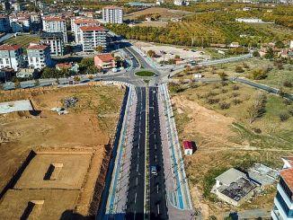 Завершено строительство участка Yesilcam и goztepe на северной Чакакской дороге Малатья.