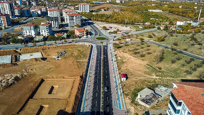 Yesilcam and goztepe section of malatya northern cakak road completed