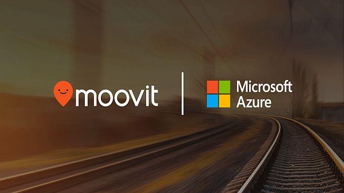 moovit provides public transport data for microsoft azure maps