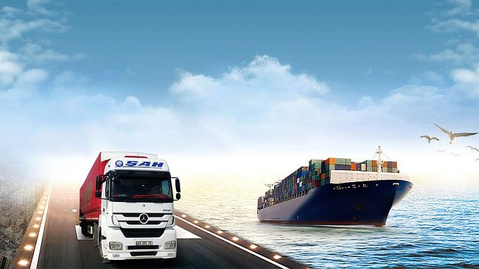 logistics company in Russia