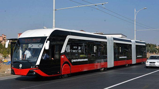 лінія санлюрфада trambus не була в експлуатації