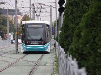 sekapark plajyolu tramvay hatti subatta aciliyor