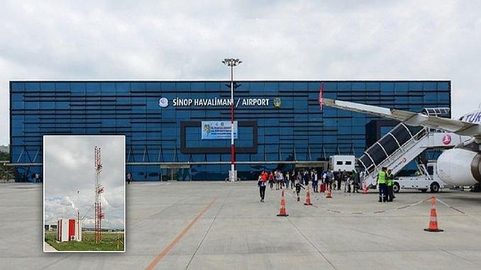 Der Flughafen Sinop wurde gegründet