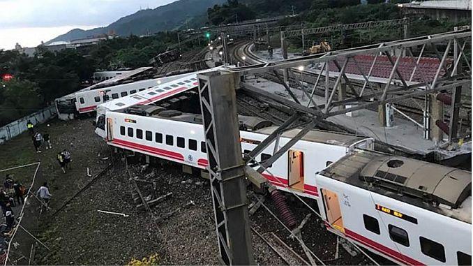 17 is a passenger train derailment