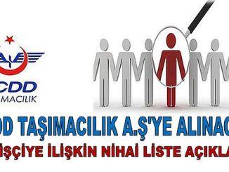 Το tcdd θα μεταφερθεί στον τελικό κατάλογο του 157 iscikacik