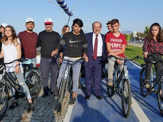 trabzon besirli coast cycling route came into service