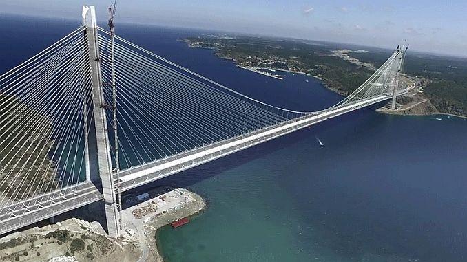 Yavuz סולטן סלים Koprusunde 323 מיליון דולר איבדו