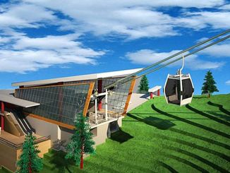 akcaabat ropeway project is a complete company