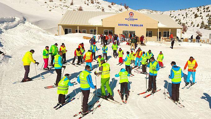 free ski course