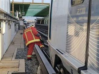 مترو الانفاق في مدينة مارسيليا الفرنسية