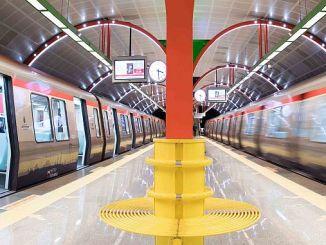 Schienenlinien und Längen von Istanbul