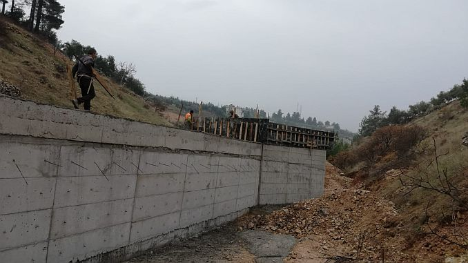 kahramanmaras continues north-way route 3 stage work
