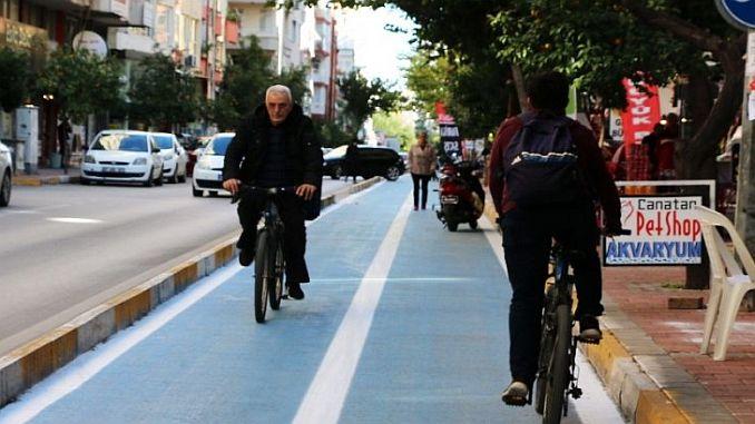 28 kilometer cycle path