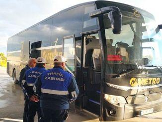 manisada busstationen strikta kontroller