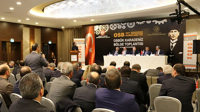 osb black sea region exception meeting was held in samsunda