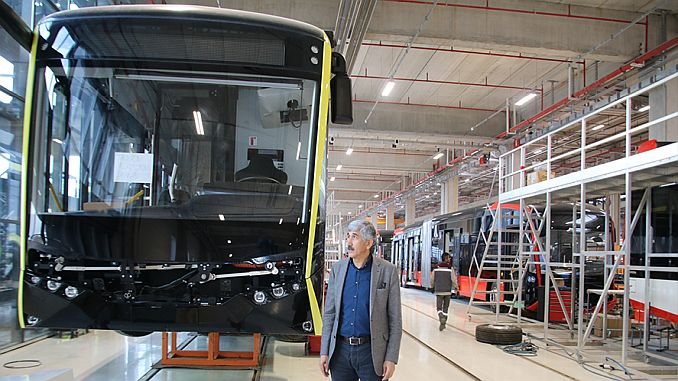 sanliurfada trambus projesi 2 ay gecikmeli hizmet verecek