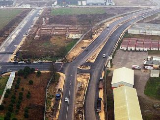 The new double road built between satso and 1 osb is completed