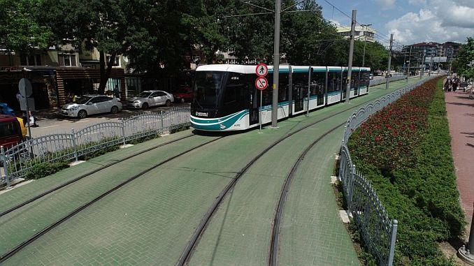 sekapark plajyolu tramvay hattina korkuluk insa edilecek